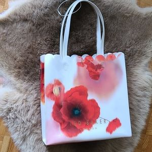 Ted Baker Yaracon Kensington Floral Shopper NEW